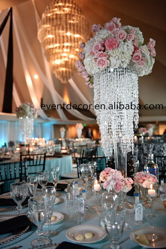 wholesale chic modern waterfall crystal chandelier crystal wedding centerpiece view chandelier. Black Bedroom Furniture Sets. Home Design Ideas