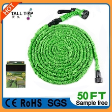 Stretch/expanding garden rubber Water Hose Factory,High Quality rubber water hose,rubber water hose 5mm