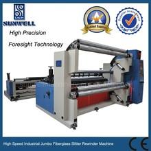 High Speed Industrial Jumbo Fiberglass Slitter Rewinder Machine