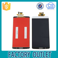 white for lg g3 d858 d855 d859 lcd touch screen,for g3 lcd ,for g3 touch screen with frame gold