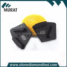 HTC Diamond Metal Bond polishing Pad For Floor Rough polishing