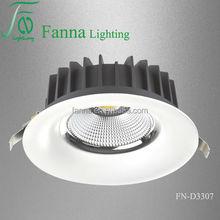 40W COB led downlight manufacture supply/ cob downlight