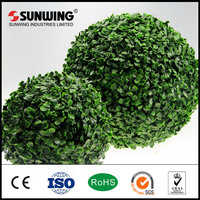 artificial decorative topiary boxwood ball plant