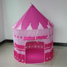 Cute Large children play tent pink play house for girl