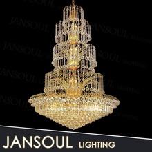 low price modern italian design fabric big drum shade pendant light k9 crystal beads for chandelier