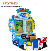 Double car game/simulator racing game/baby car racing , amusement park equipment rides , kiddie ride coin operated games