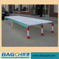 BC series poultry plastic slats floor for farming broiler chicken house/Chicken plastic slat floor