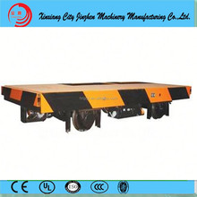 Look here , 2015 new and good price ,the high quality Metal Industry 50T Rail Trailer