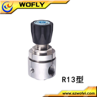 China professional manufacture stainless steel N2 hp regulator