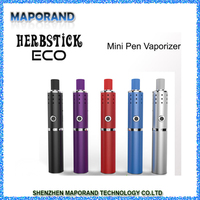 portable baking vaporizer herbstick Eco dry herb vapo /Herbstick Eco big vapor and 6 temperature stages dry herb herbstick eco