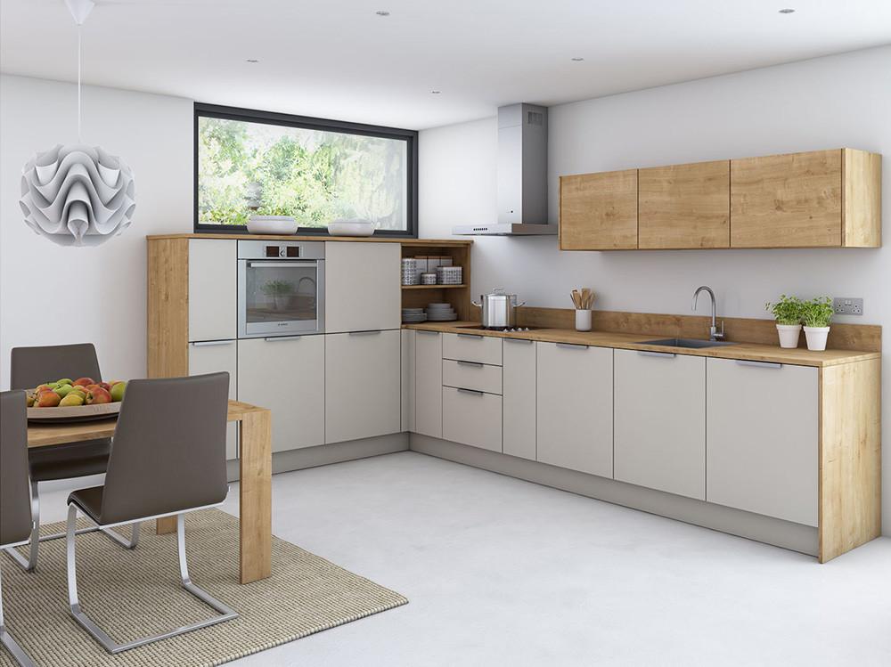 Meuble de cuisine blanc laqu meubles de cuisines en for Cuisine complete blanc laque