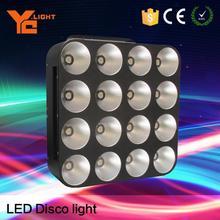 Quick Response Stage Equipment Producer 16 Heads Matrix Light Disco Effect