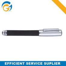 2 Color Silver Cap Metal Ball Pen