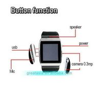 New arrival latest mobile watch for smart phone