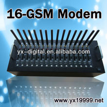 rj45 port interface usb modem GSM modem wavecom 16ports bulk SMS MMS EDGE/original wavecom module