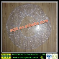 transparent and blue color spa liner/spa cover for used for nail salon