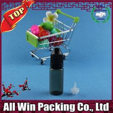 e liquids black pet bottles with dropper 10ml Braille triangle mared on sales