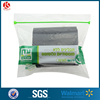 Plastic/ldpe transparent zipper bags rubber products packing bags