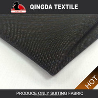 W1953 Polyester hopsack fabric linnen suiting fabric tackle luxury twill polyester fabrics for suiting