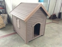 Wood Plastic Composite Slats Dog House For Sales/High Quality Dog House/Plastic Dog House