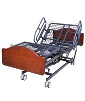 Full electronic 3 function home/hospital patient nursing care bed