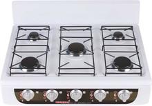 Europe style desktop cooking range 5 burner cooking range