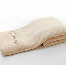 Wholesale natural organic colored cotton children baby kids crib comforters quilt home kindergarten cartoon design in winter