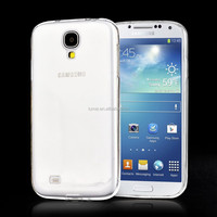 For Samsung Galaxy S4 Good Quality Transparent Soft Tpu Back Gel Case Cover