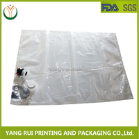 Food Grade Clear Ny/PE Spout Edible Oil Packing, Cooking Oil Bag