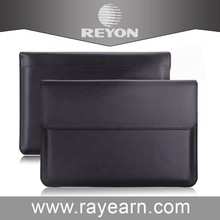Hot selling Laptop Cover 11 13 inch leather Case For Macbook Pro Air Pouch bag