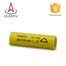 600mah rechargeable ni-cd aa battery pack ni-cd battery pack 7.2v