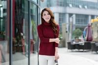 Короткий женский свитер  2014FF1122