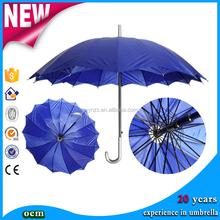 OEM Solid Color Handl umbrella printing gift Double Layer umbrella