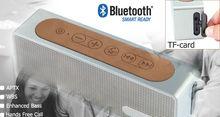 Remarkable tone quality Built in Bluetooth speaker passive radiator enhanced bass