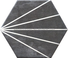 mitte gray glazed porcelain floor tile/ceramic tile factory-EYS603