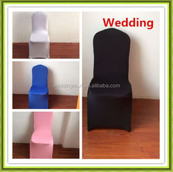 HOT SALE colourful polyester spandex chair cover for wedding event(wholesale)