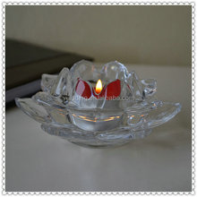 Water Perfusion Entire Glass Lotus Flower For Cheap Gifts