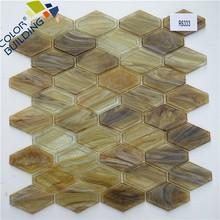 Lozenge Tile New Mosaic In China Net Backed Tiles