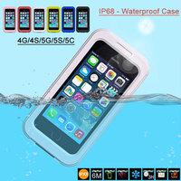 IP68 100% Waterproof Case for Iphone 4/4s/5/5s/5c
