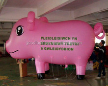 inflatable pig animal balloons /helium balloons