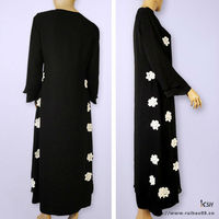 Fashion Brief Black Abaya 2012
