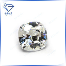 Sterling silver high quality square beads cubic zirconia wholesale unusual jewelry