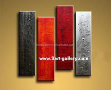 seaside canvas,abstract canvas,5 piece canvas
