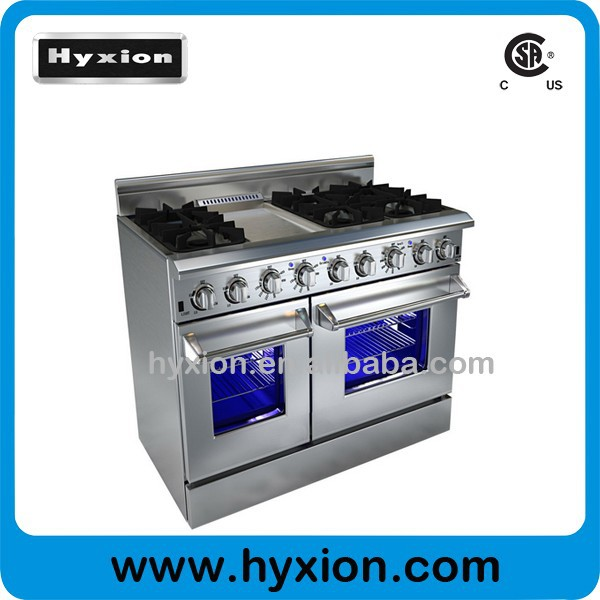 list of 48 hyxion gas range