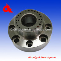 Custom sodium silicate investment casting machinery part