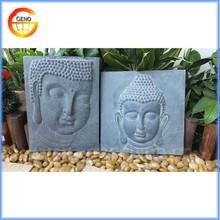 Wonderful decorative resin buddha wall decoration