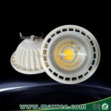 12V 185-265V aluminium plastic CE ROHS ERP approved COB AR111 GU10 led ceiling down light