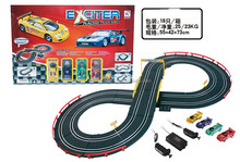 Electro magnetic,W/C racing Truck Set toys,Wire Control Railway Car Toys Set