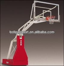 Indoor basketball gym basketball goal hoop system