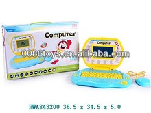 Kids Education Toy 80pcs functions laptop computer with mouse